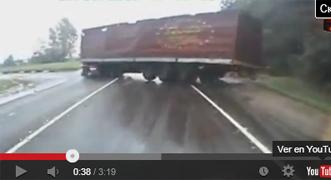 Vídeo: Conductores de camiones: maestría y suerte