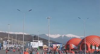 Vídeo: llegada al parque olímpico de Sochi