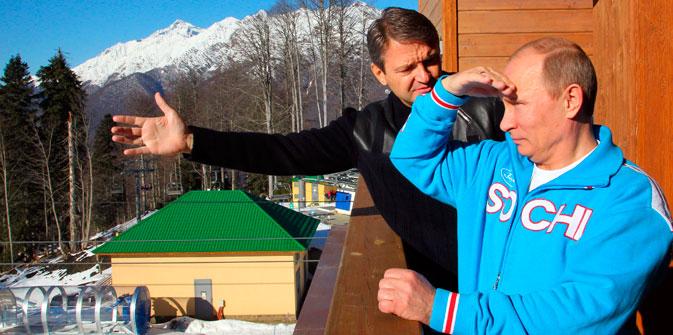 El presidente ruso explica en un documental cómo se prepararon los Juegos de Sochi 2014. Fuente: Reuters