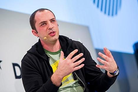 Jan Koum, fundador de la aplicación WhatsApp. Fuente: Photoshot / Vostock Photo