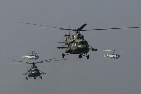 Estos días tiene lugar en Santiago FIDAE-2014, la mayor feria de armas de América Latina, con una destacada presencia rusa. Fuente: Ria Novosti / Alekséi Kudenko