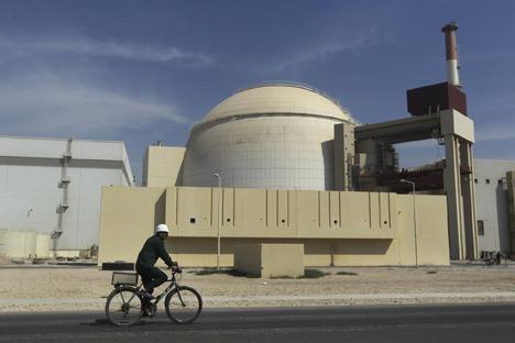 La central nuclear de Bushehr alcanzó su pleno rendimiento el año pasado. Fuente: AP.
