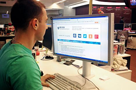 Die Zahl der Attacken auf russische Webseiten haben in den vergangenen Wochen zugenommen. Foto: Russland HEUTE