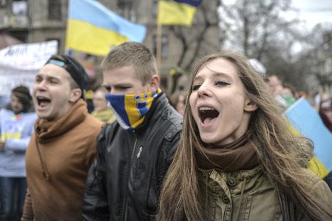 Referendo sobre a adesão da Crimeia à Rússia acirrou os ânimos na região Foto: RIA Nóvosti