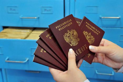Passaporte russo será concedido a um total de 170 atletas crimeanos Foto: ITAR-TASS