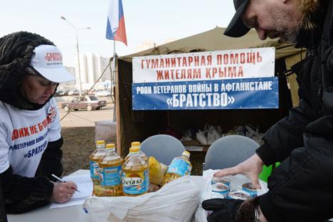 Rusia no podría suplir el suministro inmediatamente por lo que los habitantes se enfrentan a restricciones. Fuente: RIA Novosti