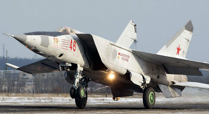MiG-25,el mítico avión de combate creado en la época soviética. Fuente: Alex Beltyukov, Wikipedia