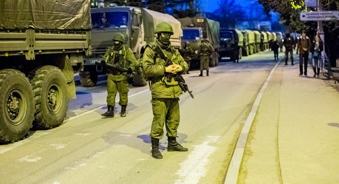 Contingente adicional de tropas pode virar alvo de todos os ucranianos Foto: RIA Nóvosti