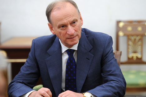Russian Security Council Secretary Nikolai Patrushev.