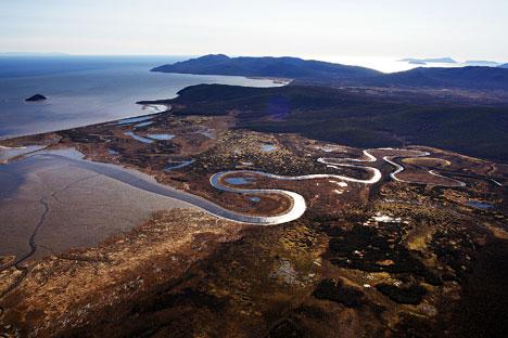 El territorio está situado en el mar de Ojotsk, en el extremo oriental del país, y cuenta con mas de mil millones de toneladas. Fuente: Lori/Legion Media