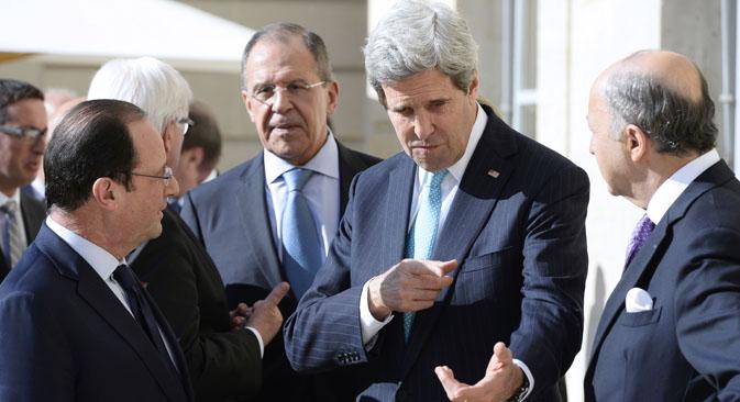 EE UU y Europa quieren aplicar sanciones económicas a Rusia. Fuente: AP