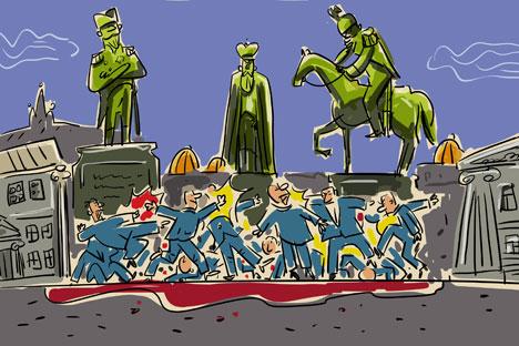Dibujado por Alekséi Iorsh