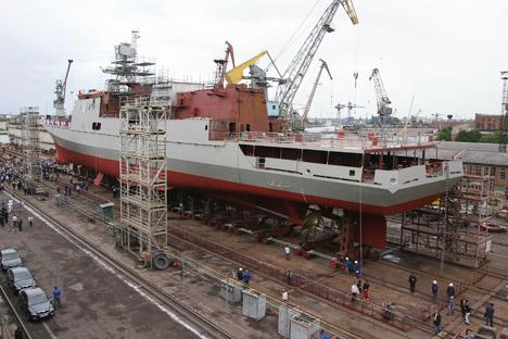 El Ministerio de Defensa ruso tiene planes para desarrollar la infraestructura militar en los próximos seis años. Fuente: Ígor Zarembo / Ria Novosti