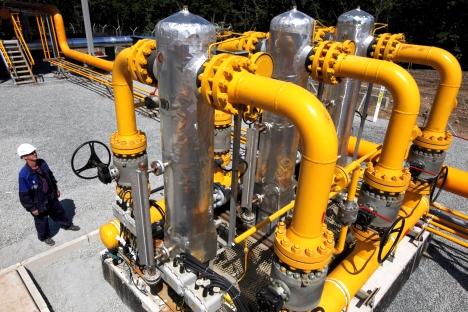 El gigante del gas dispuesto a construir un gasoducto. En estos momentos se barajan dos opciones desde lugares diferentes. Fuente: Ria Novosti