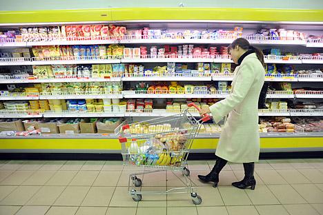 """Crece el """"índice de consumo Ivánov"""", que refleja el comportamiento típico del ciudadano de clase media. Fuente: ITAR-TASS"""