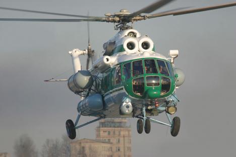 El gobierno de Evo Morales ha mostrado su interés por los helicópteros Mi-17. Fuente: www.russianhelicopters.aero