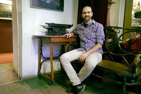 El compositor Ángel del Castillo estrena este martes en Moscú su obra inspirada en el 'Réquiem' de Anna Ajmátova . Fuente: Víctor Colmenarejo