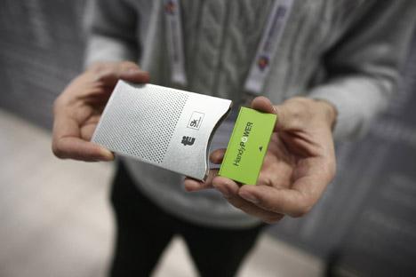 El dispositivo de la startup rusa HandyPower costará solo 45 dólares. Fuente: servicio de prensa