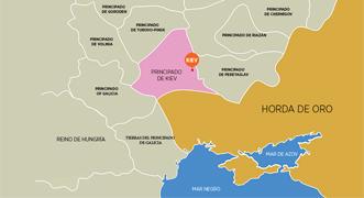 Infografía interactiva: el territorio de Ucrania a través de la historia