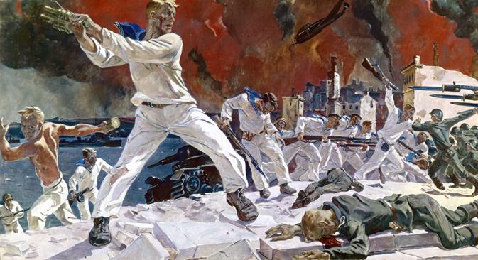 La peste, el exilio y la guerra han asolado la península. Fuente: Ria Novosti