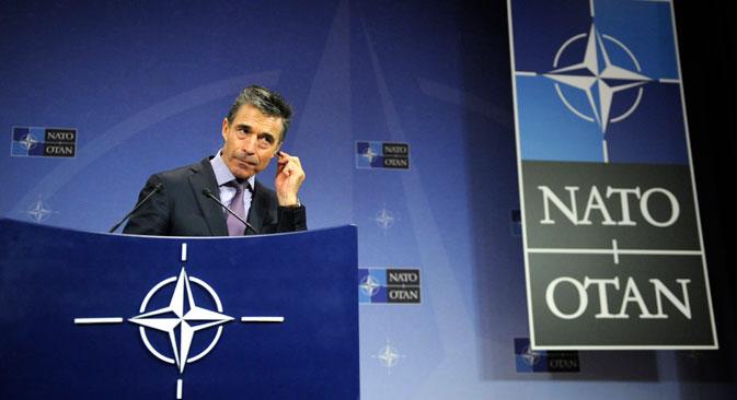 El secretario general de la OTAN, el danés Anders Fogh Rasmussen, se ha mostrado muy crítico con Rusia en las últimas semanas. Fuente: Reuters
