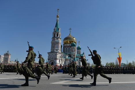 Esta organização dos militares começa a dar seus frutos Foto: Aleksêi Malgavko/ RIA Nóvosti