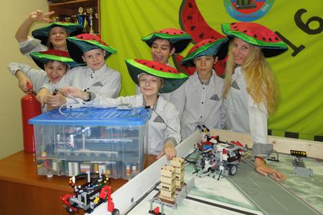 Unos jóvenes ingenieros rusos consiguen triunfar en competición en EE UU. Fuente: servicio de prensa