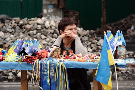 Metade dos entrevistados considera que a maior parte da informação na mídia sobre os acontecimentos na Ucrânia é objetiva Foto: Mikhail Voskresénski/RIA Nóvosti