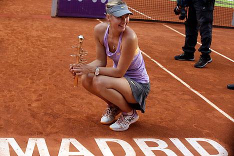 Derrotó a la rumana Simona Halep por  1-6, 6-2, 6-3. Fuente: Reuters