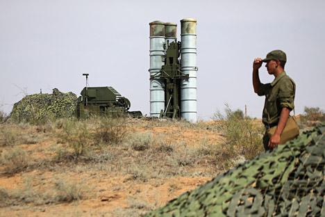 Sistema antiaéreo S-400. Fuente: Ruslán Krivobok / Ria Novosti