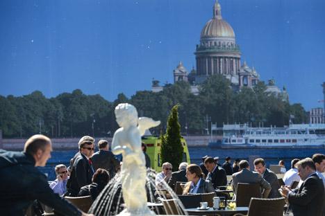 El encuentro empresarial más importante de Rusia llega en un momento de tensión internacional. Fuente: Vladímir Astapkovich / Ria Novosti