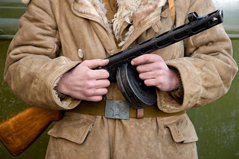 El Ejército Rojo utilizó seis millones de subfusiles PPSH-41, caracterizado por su cargador de disco. Fuente: Alamy / Legion Media