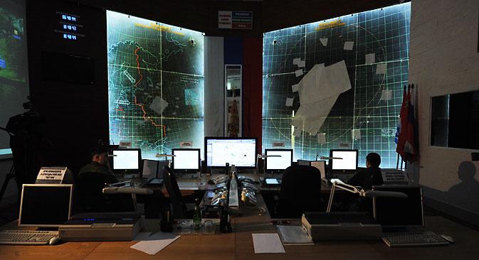 Descubre los dispositivos rusos de guerra electrónica. Fuente: Grigori Sisóev / Ria Novosti