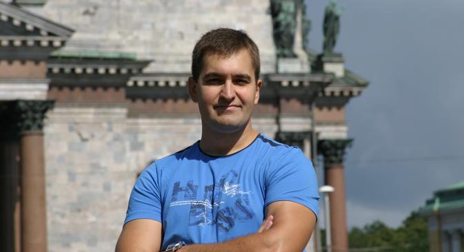 Alexander Artiujin, el fundador del proyecto. Fuente: servicio de prensa