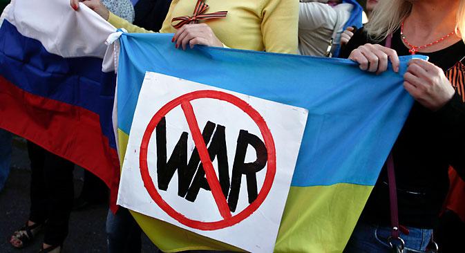 Três quartos dos entrevistados mostraram preocupação com a possibilidade de um conflito armado entre a Rússia e a Ucrânia Foto: Reuters