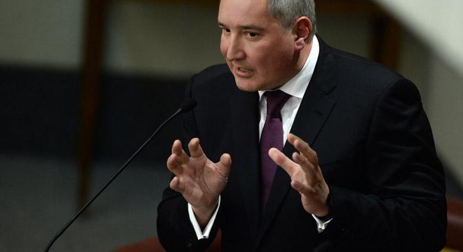 La medida entraría en vigor el 1 de junio, según el vice primer ministro Rogozin. Fuente: ITAR-TASS