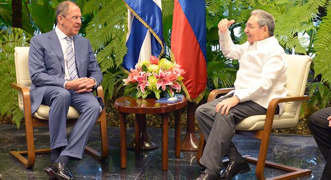 Serguéi Lavrov visitó Cuba, Nicaragua, Perú y Chile. Fuente: E. Pesov / Ministerio de Asuntos Exteriores de Rusia