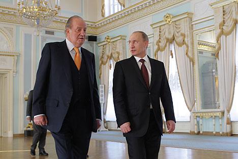 Desde la primera visita oficial en 1984, el Rey de España realizó cuatro visitas oficiales al país eslavo. Fuente: AFP / East News