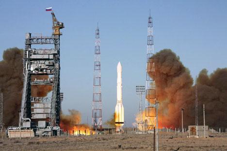 Sistema russo de localização Glonass é atualmente composto por 28 satélites Foto: TASS