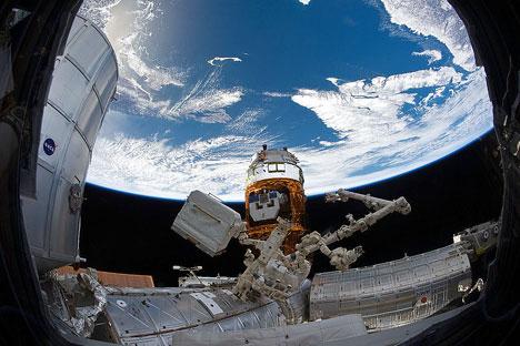 El empresario ruso Marat Zaguidúllov pretende lanzar al mercado global una tecnología utilizada por los astronautas de la Estación Espacial  Internacional. Fuente: NASA