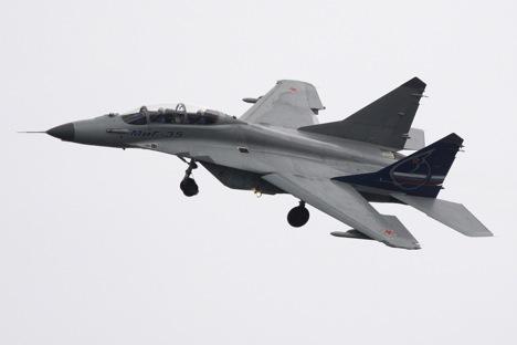 Rusia negocia con Egipto la venta de 24 cazas por un total de 3.000 millones de dólares. Fuente: Ria Novosti / Antón Denísov