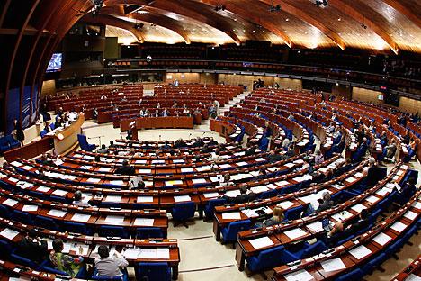 Moskau hat die Zusammenarbeit mit dem Europarat-Parlament auf Eis gelegt. Foto: Reuters