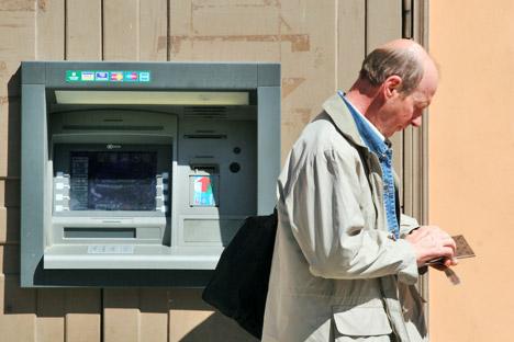 Visa y Mastercard copan el 90% del mercado de tarjetas de crédito en Rusia. Fuente: ITAR-TASS.