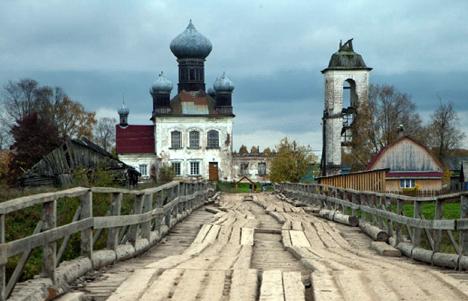 Una iglesia en Kem, región de Arjánguelsk. Fuente: Geo Photo