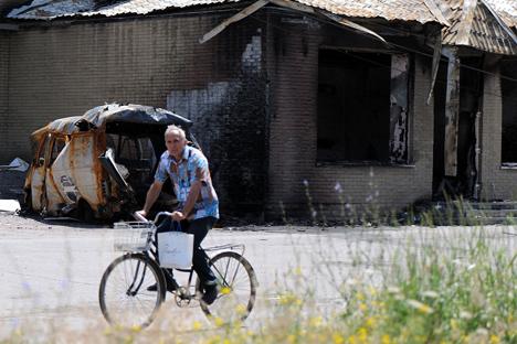 Últimos acontecimientos en la República Popular de Donetsk. Fuente: Getty Images / Fotobank