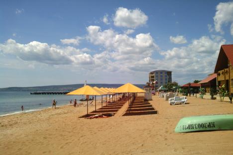 O setor de turismo sempre foi a principal fonte de renda para os moradores da península Foto: Serguêi Moskvitchev