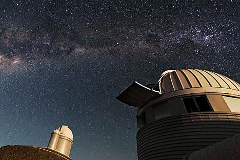 Los astrónomos rusos en Chile reanudarán su trabajo en el telescopio AZT-16. Fuente: servicio de prensa