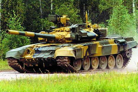 Tanque T-90 Foto: mil.ru