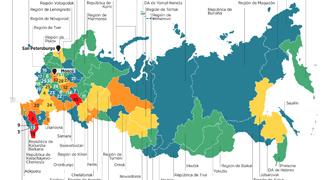 La tensión interétnica en Rusia