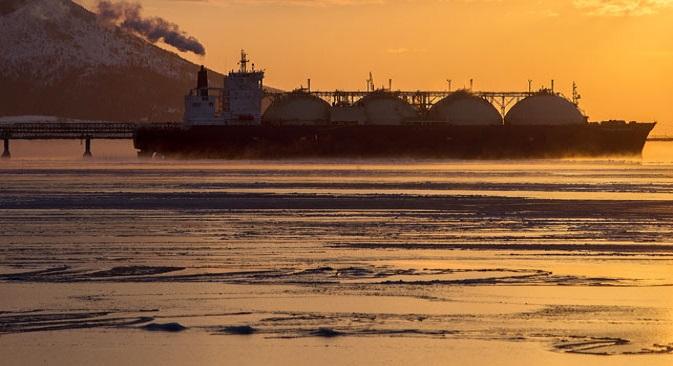El gas ruso supone el 30% del suministro europeo y este año se han firmado importantes con China. Fuente: Ria Novosti